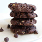 Vegan-Double-Chocolate-Oatmeal-Cookies