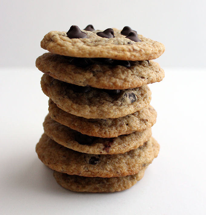 1 Bowl Vegan Chocolate Chip Cookies