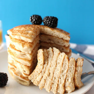 The Fluffiest Vegan Pancakes