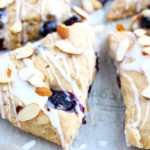 Vegan Blueberry Almond Scones