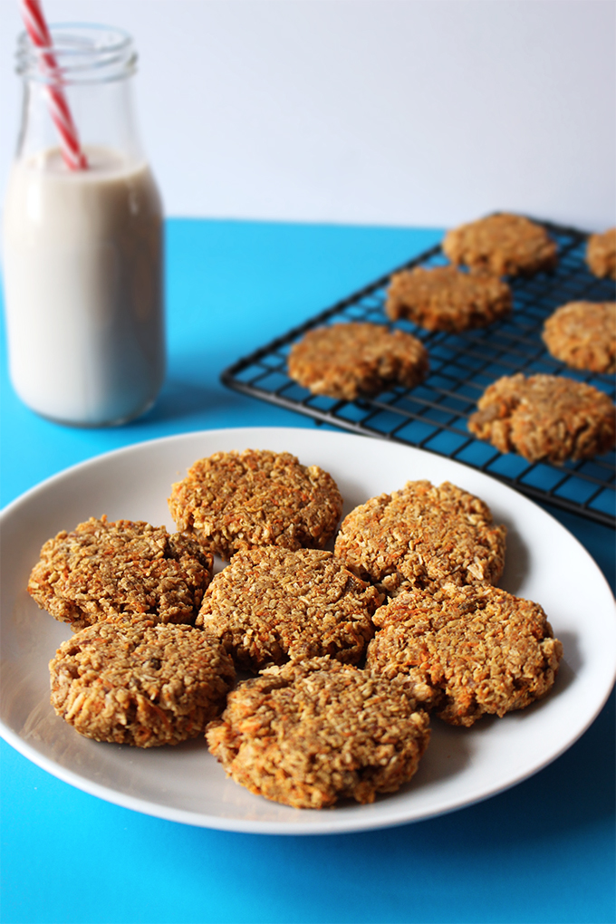 Coconut Carrot Cake Cookies