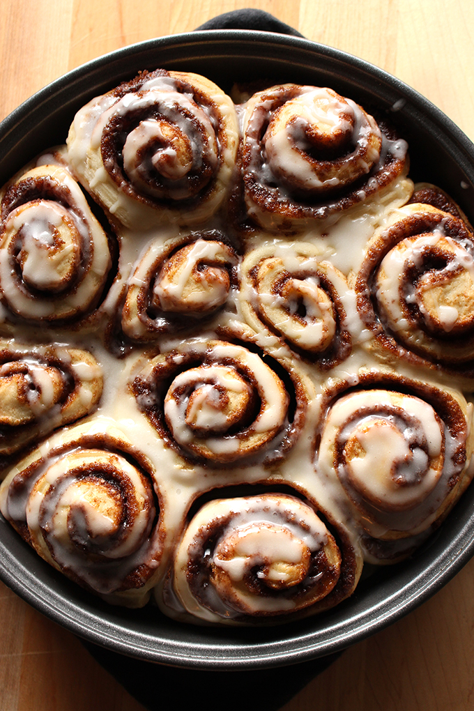 Best Ever Vegan Cinnamon Buns