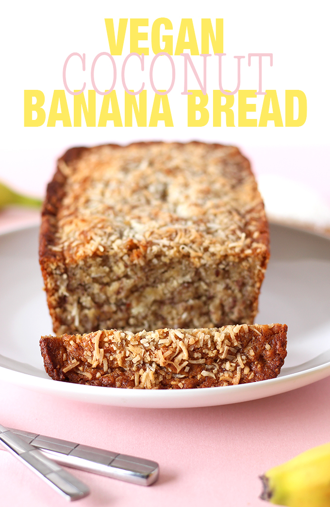 Vegan Coconut Banana Bread