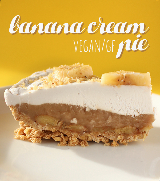 Banana Cream Pie (V, GF)