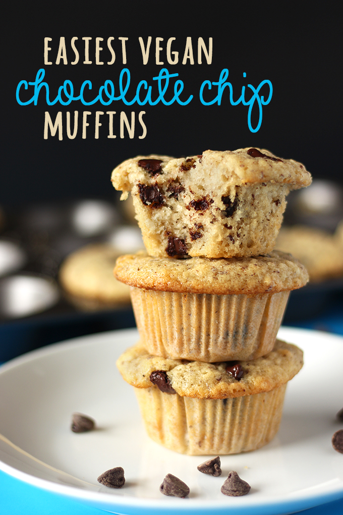 Best Ever Vegan Chocolate Chip Muffins