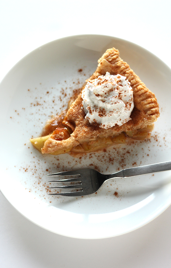 Best Ever Vegan Apple Pie